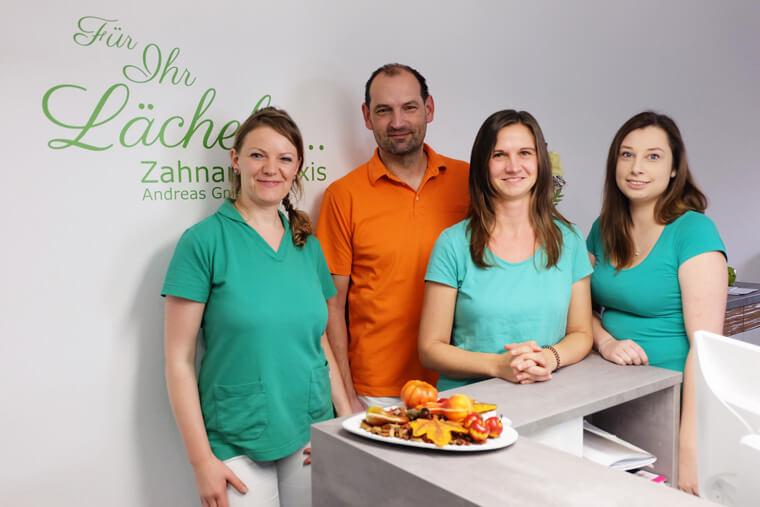 Das Team der Zahnarztpraxis von Andreas Gniech in Rudolstadt